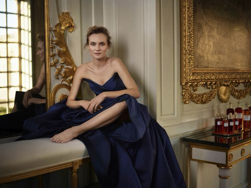 Internationally-acclaimed actress Diane Kruger is shot by Mary McCartney at the iconic Palace of Versailles in Paris, to celebrate her appointment as Martellâeuro(TM)s ambassador for the cognac houseâeuro(TM)s 300th anniversary this year. (PRNewsFoto/Martell)