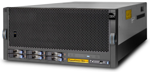 IBM's new PowerLinux 7R4 server provides clients the performance required for demanding big data and cloud workloads increasingly being deployed in Linux environments. (PRNewsFoto/IBM) (PRNewsFoto/)