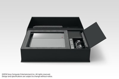 "Sony Computer Entertainment announced the ""PlayStation 4 20th Anniversary Edition"" commemorating the 20th anniversary of the original PlayStation on Dec. 3, 1994. Pictured is the special packaging that houses the limited edition PS4 and accessories."