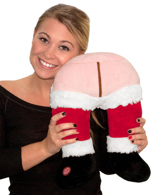 Santa's Farting Travel Butt Pillow, one of the Top 10 Stupid Gifts of 2012 selected by Stupid.com.  (PRNewsFoto/Stupid.com)
