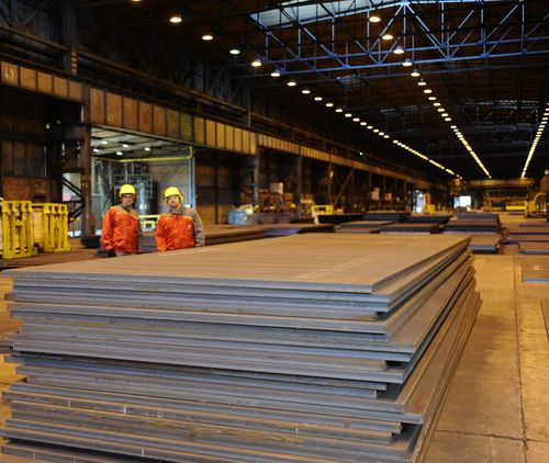 Optim steels have good workshop properties and their flatness and surface quality is excellent. (PRNewsFoto/Ruukki)