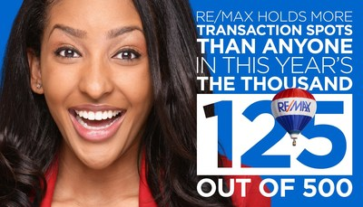 RE/MAX in the REAL Trends The Thousand