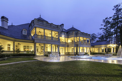 This spectacular Texas mansion located north of Houston in The Woodlands has finally been sold, in advance of its planned auction date of February 20, 2016. The sale was managed by Miami-based Platinum Luxury Auctions, in cooperation with listing brokerage Coleman Realty Services of Conroe, Texas. The sale price is purportedly the highest to date within the Woodlands community. More at PatinumLuxuryAuctions.com.