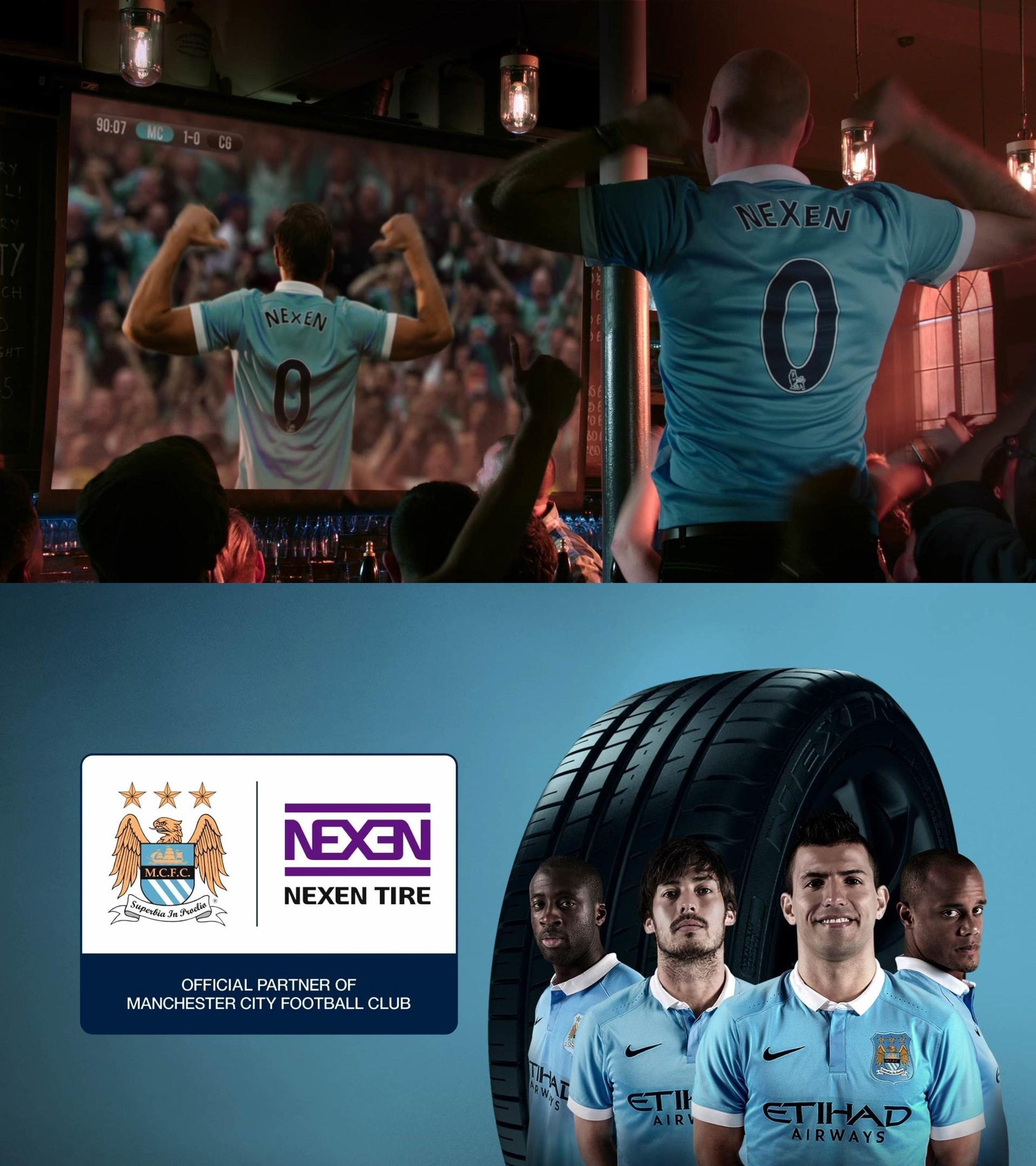 Nexen Tire lance son premier message publicitaire télévisé en Europe