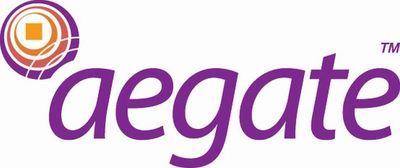 Aegate logo (PRNewsFoto/Aegate)