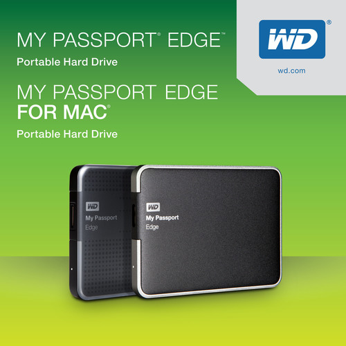 WD(R) Ships New Slim And Sleek Family Of Portable Hard Drives.  (PRNewsFoto/WD)