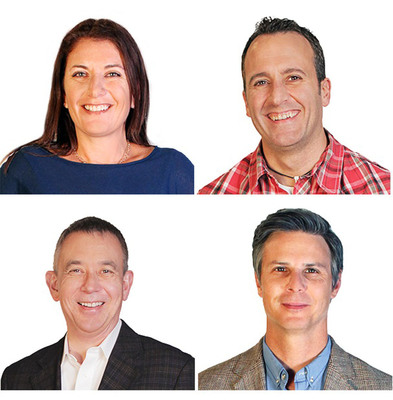 Rosetta, an independent brand in the Publicis Groupe of global agencies and one of the nation's largest digital and direct interactive agencies, today announced it has hired four new Partners to support the rapid growth of its Technology and Telecommunications Vertical, the agency's fastest growing practice. Frank Garavaglia, Mike Norris, Rachel Rapaport and Bill Melton will be based on the West Coast and will report directly to Managing Partner Grant McDougall. Rosetta is a consulting-centered interactive agency engineered to transform marketing for the connected world.  (PRNewsFoto/Rosetta)