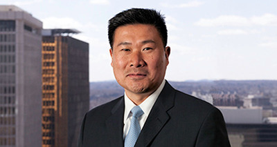 Cantor Colburn LLP, one of the country's leading intellectual property law firms, announced today the hiring of partner Daniel Chung, former Chief Trademark Counsel at Johnson & Johnson.  Mr. Chung holds over 20 years of extensive experience in all aspects of trademark and copyright counseling, enforcement, strategy and portfolio management, having held senior counsel positions at several dynamic multinational global corporations and private practice.  (PRNewsFoto/Cantor Colburn LLP)
