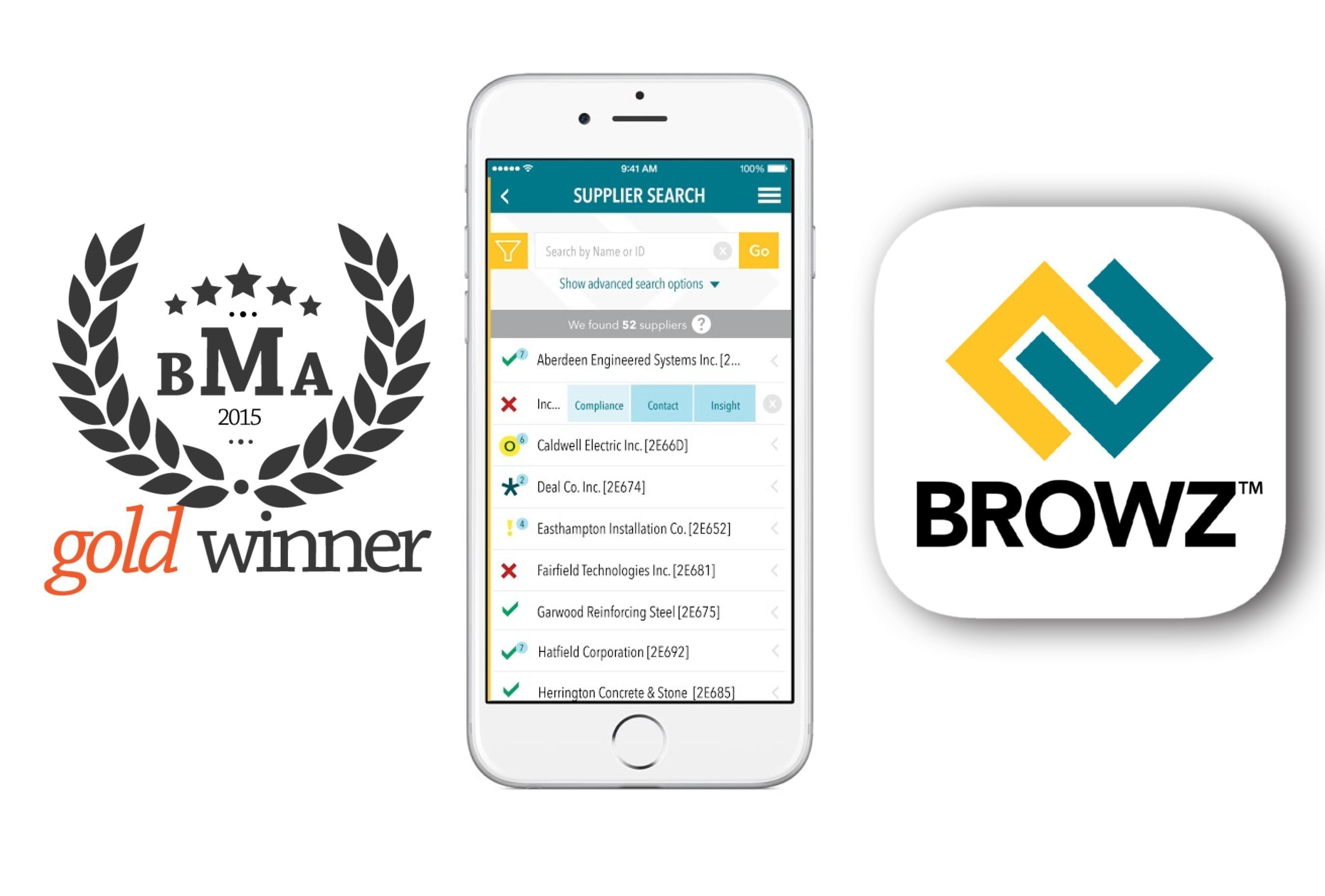 BROWZ was recently awarded the Gold Award from Best Mobile App Awards in the Best App Design category.