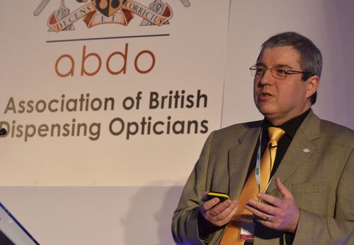 ABDO President Peter Black at the 2014 ABDO conference(Photo credit: Terry Oborne)