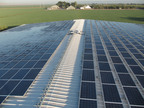 Roof mounted solar system at Del Mar Farms developed by Cenergy Power. (PRNewsFoto/Cenergy Power)