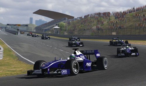 iRacing.com and the AT&T Williams Team Announce Arrival of Virtual Version of Williams-Toyota FW31