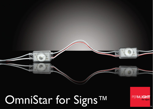 Permlight for Signs™ Unveils OmniStar, the Most Efficient LED Module Available to the Signage