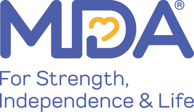 Muscular Dystrophy Association logo.
