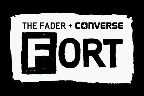 "THE FADER AND CONVERSE TEAM UP WITH SXSW TO ANNOUNCE ""THE FADER FORT PRESENTED BY CONVERSE"" AT THE 2012 SXSW MUSIC AND MEDIA CONFERENCE. EVENT TO TAKE PLACE MARCH 14-17, 2012 IN AUSTIN, TEXAS.  (PRNewsFoto/The FADER, Inc.)"