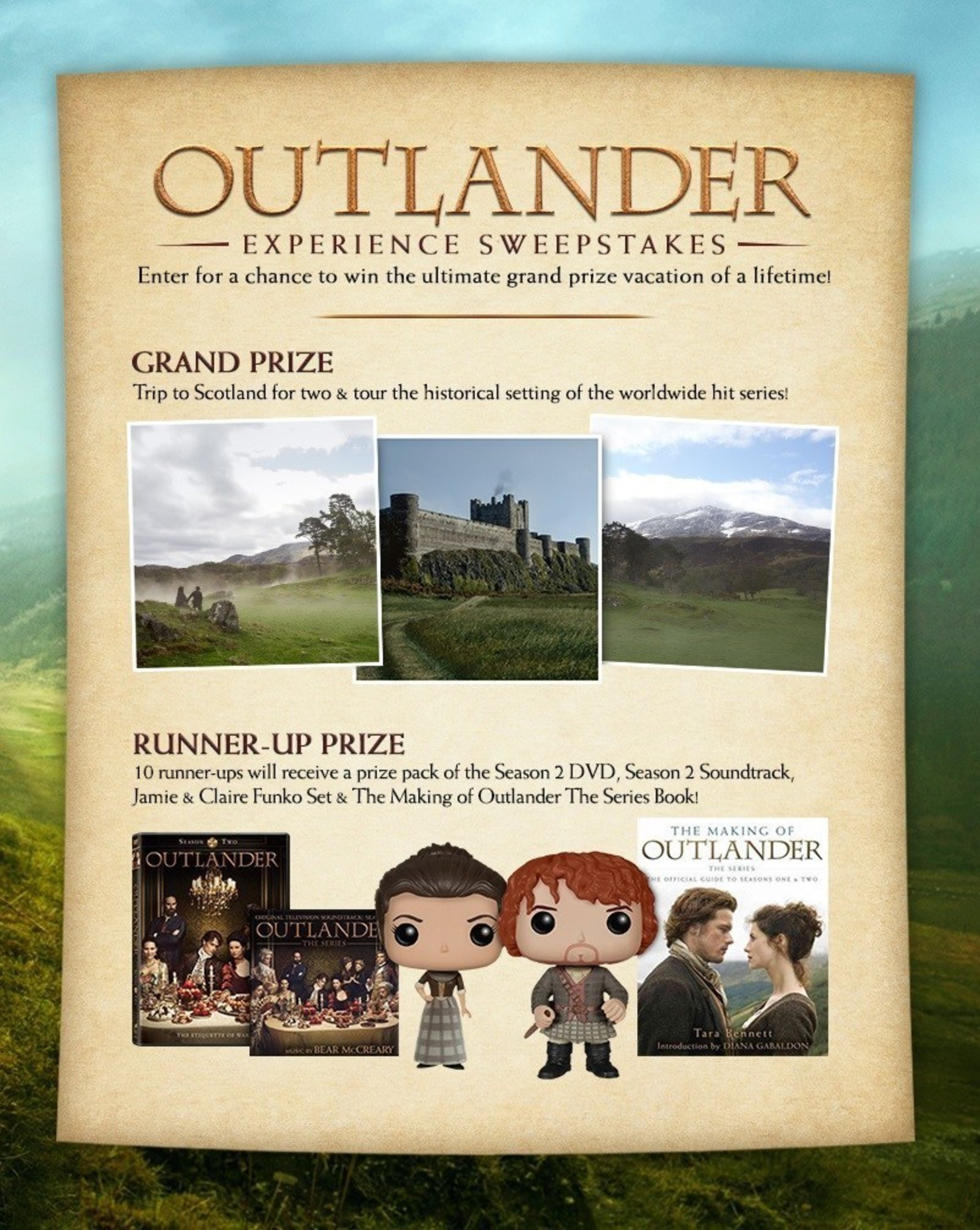 Bring 'Outlander' Home For The Holidays