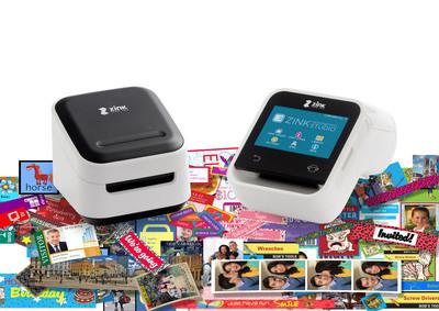 ZINK Imaging's hAppy and hAppy Smart App Printers.  (PRNewsFoto/ZINK Imaging, Inc.)