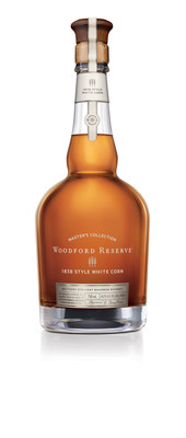 Woodford Reserve announces the release of its latest product, the Woodford Reserve Master's Collection 1838 Style White Corn, which will be available for purchase in limited quantities in November. This new bourbon release, representing a convergence of the brand's commitment to innovation and historic roots, pays tribute to the craftsmanship and vision of past distillery industry leaders Oscar Pepper and James Crow and their original use of white corn in their whiskey production process from the late-1830s to the 1850s.