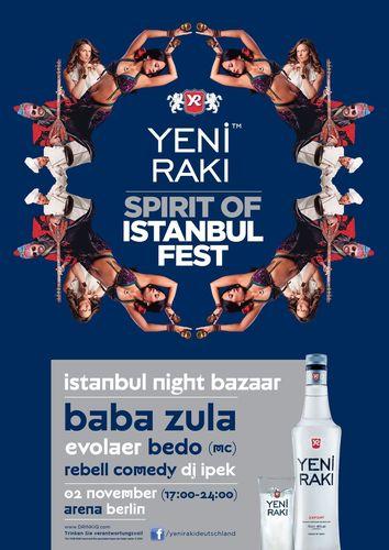 Spirit of Istanbul Fest 2013 in Berlin (PRNewsFoto/Spirit of Istanbul Festival 2013)