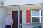A $4,000 Homebuyer Equity Leverage Partnership (HELP) grant from Texas Capital Bank and the Federal Home Loan Bank of Dallas allowed San Antonio College student Phelicia Salas and her husband, Alejandro Martinez, to build and purchase their first home through Habitat for Humanity of San Antonio.