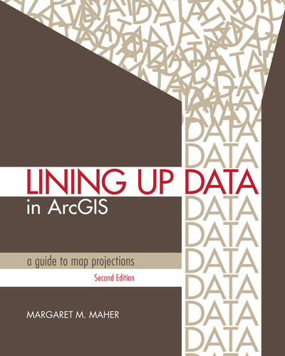 New book presents practical techniques for resolving data alignment issues.  (PRNewsFoto/Esri)