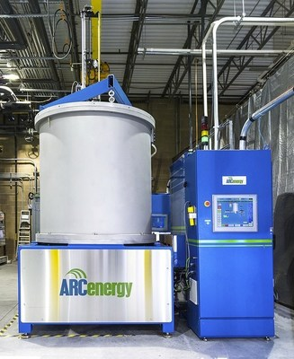 ARC Energy's CHES(R)500 Sapphire furnace to grow 300 kg boules