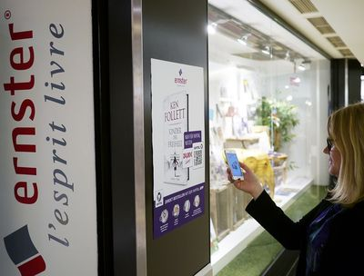 It's a Must-Read: Book Retailer ERNSTER Premieres Revolutionary 'Scan2Order' Shopping Feature From Yapital (PRNewsFoto/Yapital Financial AG)