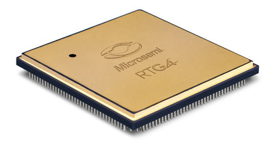 Microsemi's new RTG4(TM) high-speed signal processing radiation-tolerant FPGA family features reprogrammable flash technology offering complete immunity to radiation-induced configuration upsets in the harshest radiation environments, requiring no configuration scrubbing, unlike SRAM FPGA technology. RTG4 supports space applications requiring up to 150,000 logic elements and up to 300 MHz of system performance.
