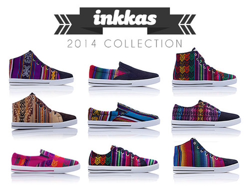 Inkkas Launches Kickstarter Campaign to Help Bring New Line of Handcrafted Shoes from South America to Market.  (PRNewsFoto/Inkkas)