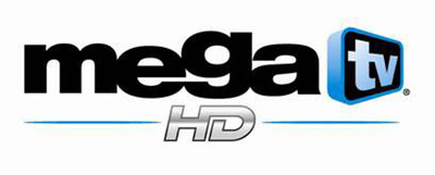 Mega TV logo.  (PRNewsFoto/Spanish Broadcasting System Inc.)