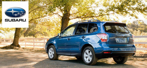 The 2015 Subaru Forester, now available at Briggs Subaru, is prepared to take on any adventure. The question is, are you? (PRNewsFoto/Briggs Subaru)