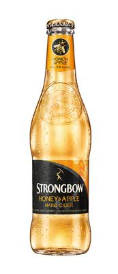 Strongbow Honey & Apple Hard Cider.  (PRNewsFoto/HEINEKEN USA)
