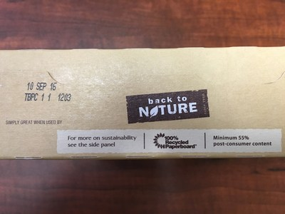 Back to Nature Classic Creme Cookies Best By Date