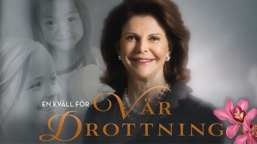 H.M. Queen Silvia's 70th birthday. (PRNewsFoto/Care About the Children)