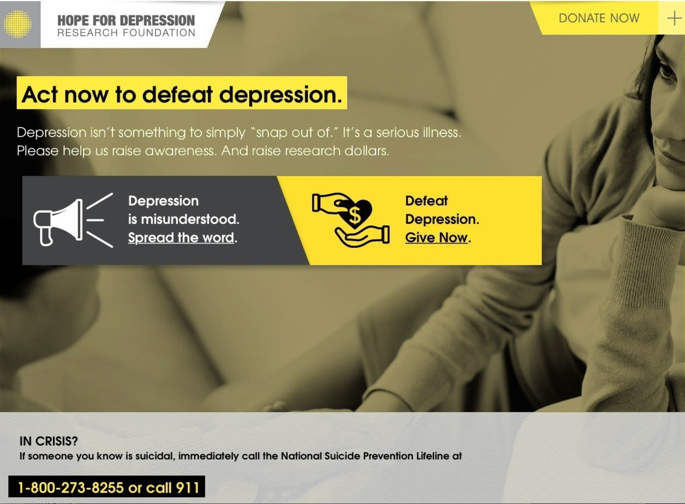 Hope For Depression Research Foundation Launches New PSA, Created By McCann HumanCare, At Fundraising Luncheon Honoring Mariel Hemingway & Demi Lovato