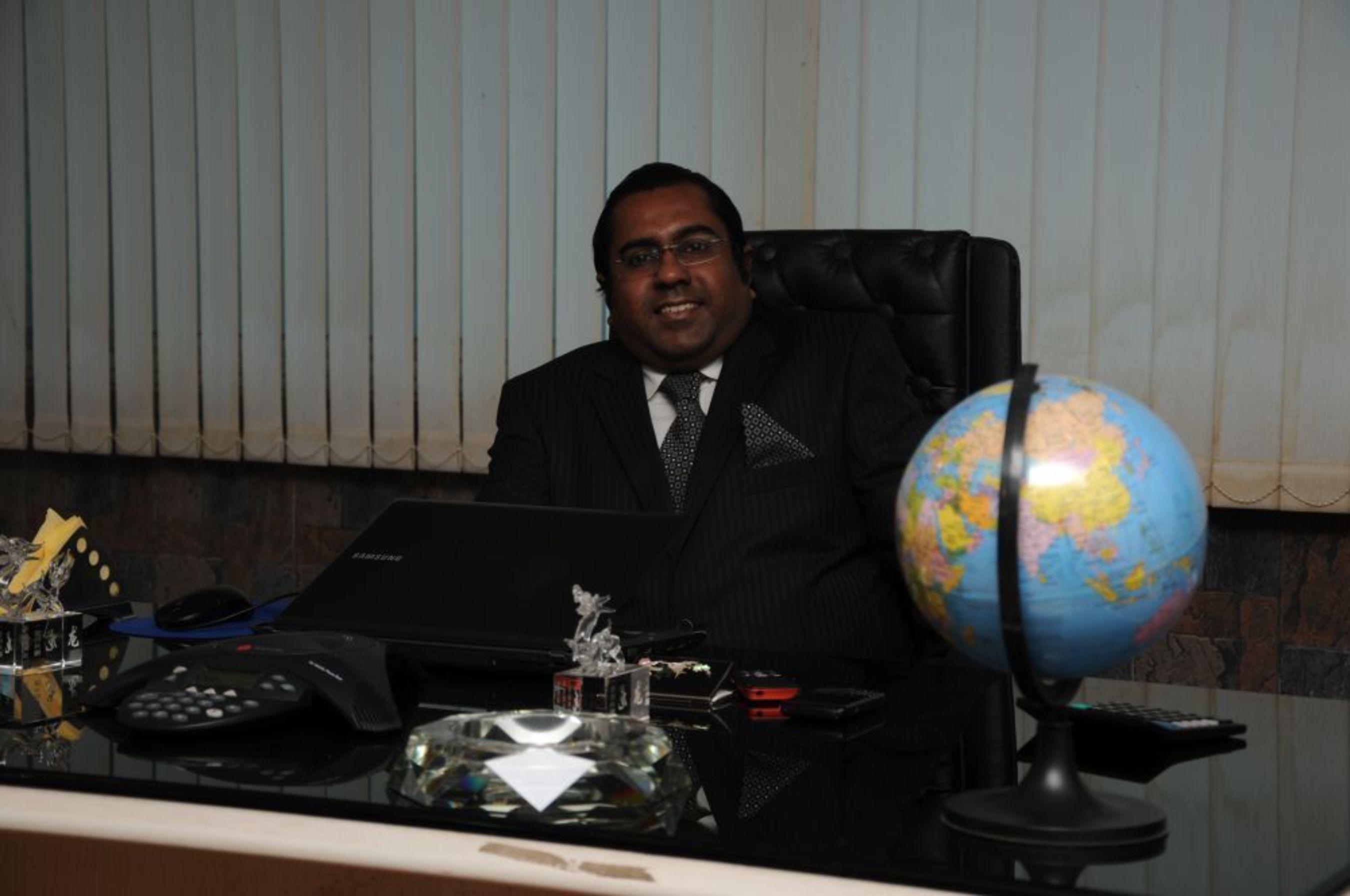 Raj Sharma, Co-Founder and President (Global) (PRNewsFoto/Majestic MRSS)