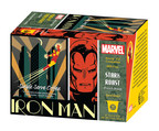 "The Marvel Comics Coffee line, a collaboration with White Coffee Corporation, consists of four single serve varieties, featuring Marvel's Super Heroes' likenesses splashed, in bold colors, across each 10-count box including: Iron Man's ""Stark French Roast,"" Spider-Man's ""Daily Bugle Breakfast Blend,"" Captain America's ""Shield Hazelnut"" and the Incredible Hulk's ""Gamma Espresso Roast."" The suggested retail price is $6.99."