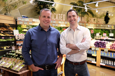 Index co-founders Jonathan Wall (left) and Marc Freed-Finnegan (right), who left Google Wallet to launch Index in 2012, are building the tools to bring ecommerce advantages to physical stores.