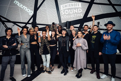The Smirnoff Sound Collective launches new artist mentorship program to foster diversity on November 30, 2016 in Brooklyn, NY