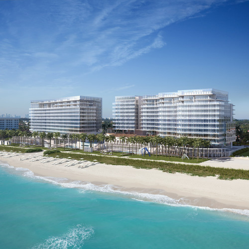 Four Seasons Hotel & Private Residences at The Surf Club, rendering by DBOX. (PRNewsFoto/Four Seasons Hotels ...
