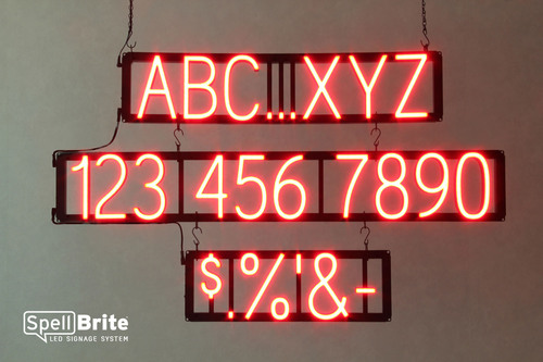 "The SpellBrite(TM) ""click-together"" LED signage system combines the striking impact of neon with the ..."