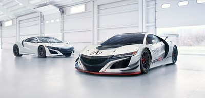 The 2017 Acura NSX supercar and NSX GT3 racecar will be featured at multiple events throughout Monterey Automotive Week.