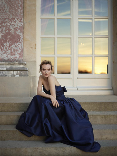 Martell Cognac's Ambassador, Diane Kruger, is stunning in a shot by Mary McCartney to celebrate the launch of the Martell France 300 project, which, in honour of Martell's 300th anniversary, identified 300 French talents embodying French Art de Vivre. (PRNewsFoto/Martell Cognac) (PRNewsFoto/Martell Cognac)