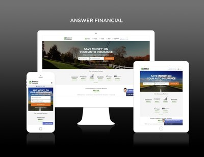 Answer Financial named a WebAward winner for Standard of Excellence in the insurance category
