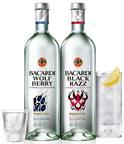BACARDI(R) WOLF BERRY and BACARDI(R) BLACK RAZZ.  (PRNewsFoto/Bacardi U.S.A., Inc.)