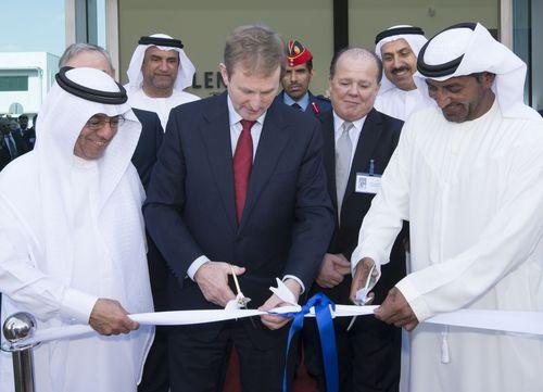 H.H. Sheikh Ahmed bin Saeed Al Maktoum & the Taoiseach Enda Kenny inaugurate AED 25 Million Glenbeigh facility in Dubai World Central (PRNewsFoto/Glenbeigh Records Management)