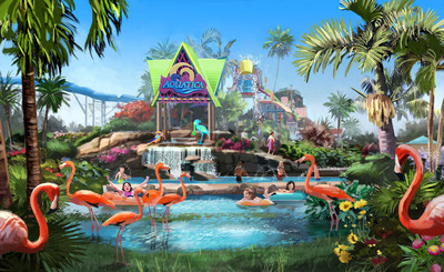 SeaWorld Parks & Entertainment, the Orlando-based owner of 10 U.S. theme parks, has acquired Knott's Soak City -- San Diego, a standalone Southern California waterpark, from Cedar Fair Entertainment Company.  The park will undergo extensive renovation and re-open next spring as SeaWorld Parks & Entertainment's third Aquatica-branded park.  Both SeaWorld Orlando and SeaWorld San Antonio now operate Aquatica parks.  Aquatica San Diego, like its sister parks, will feature guest experiences with a variety of exotic animals as an unexpected and enriching educational component.    (PRNewsFoto/SeaWorld Parks & Entertainment)