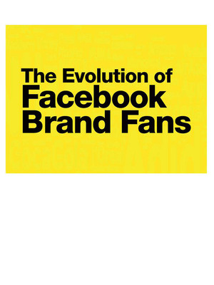 The Evolution of Facebook Brand Fans.    (PRNewsFoto/DDB Worldwide)