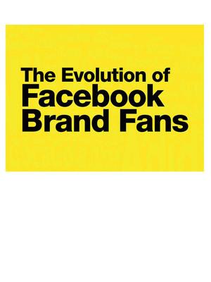 The Evolution of Facebook Brand Fans.    (PRNewsFoto/DDB Worldwide)