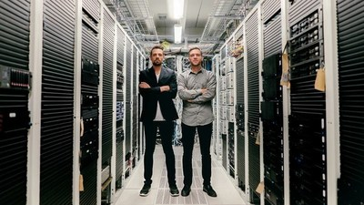 Founders of Unomaly: Johan Gustafsson and Göran Sandahl. Photo by Henrik Björkman. (PRNewsFoto/Unomaly)